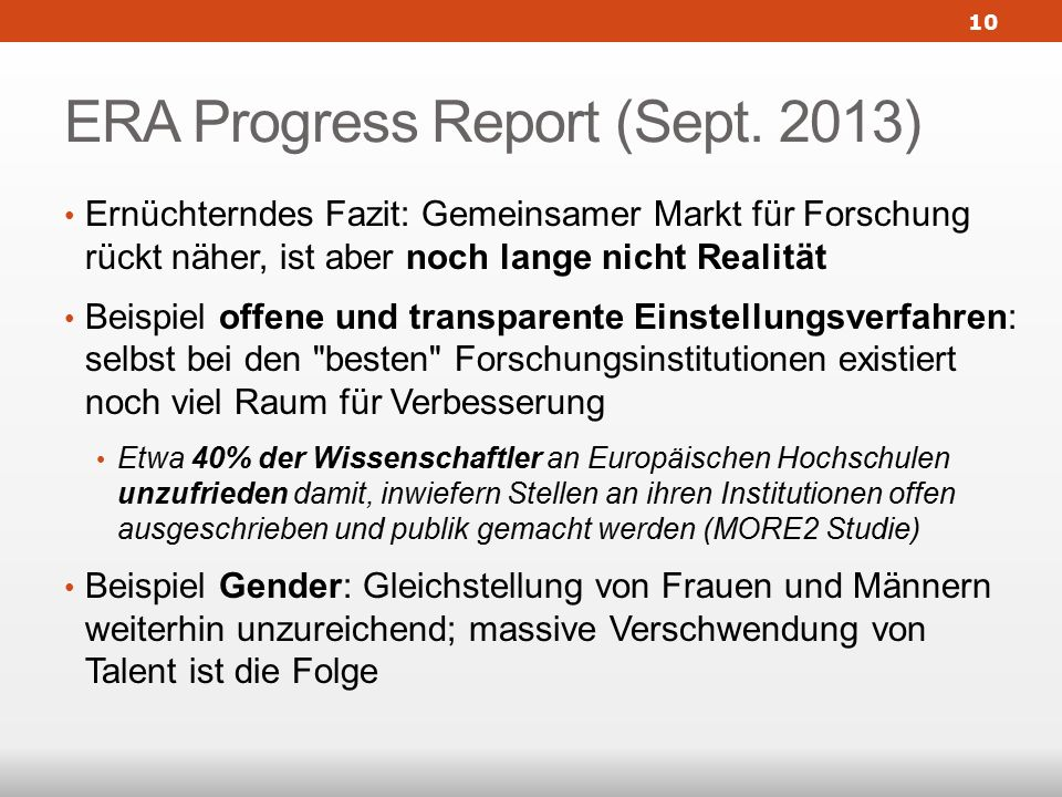 ERA Progress Report (Sept.