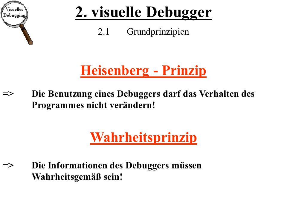 Visuelles Debugging 2.