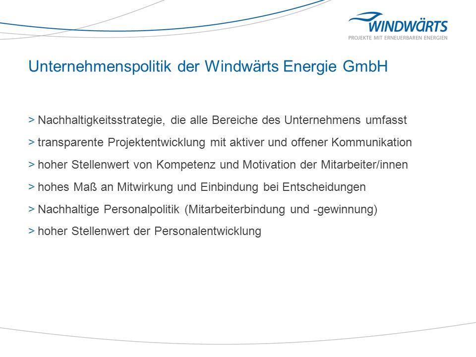 Arbeiten bei der Windwärts Energie GmbH >Tätigkeiten mit mittlerer und hoher sowie spezifischer Qualifikation >hohe Motivation der Mitarbeiterinnen und Mitarbeiter >hohe Eigenverantwortlichkeit der Mitarbeiterinnen und Mitarbeiter für den eigenen Arbeitsbereich >hohe Belastungsspitzen durch Projektarbeit >Reisetätigkeiten im In- und Ausland