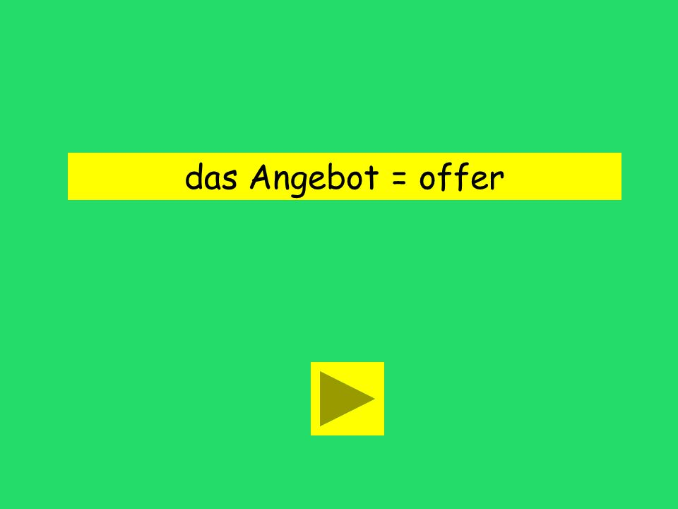 Das ist ein interessantes Angebot. offer searchadvertisement