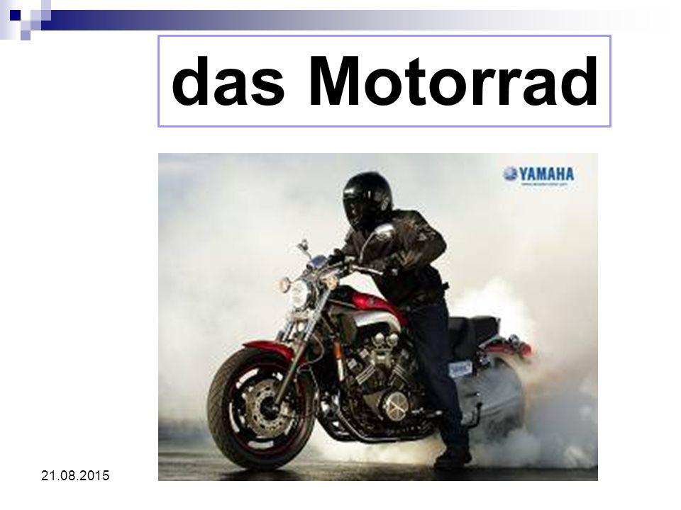 21.08.2015 das Motorrad