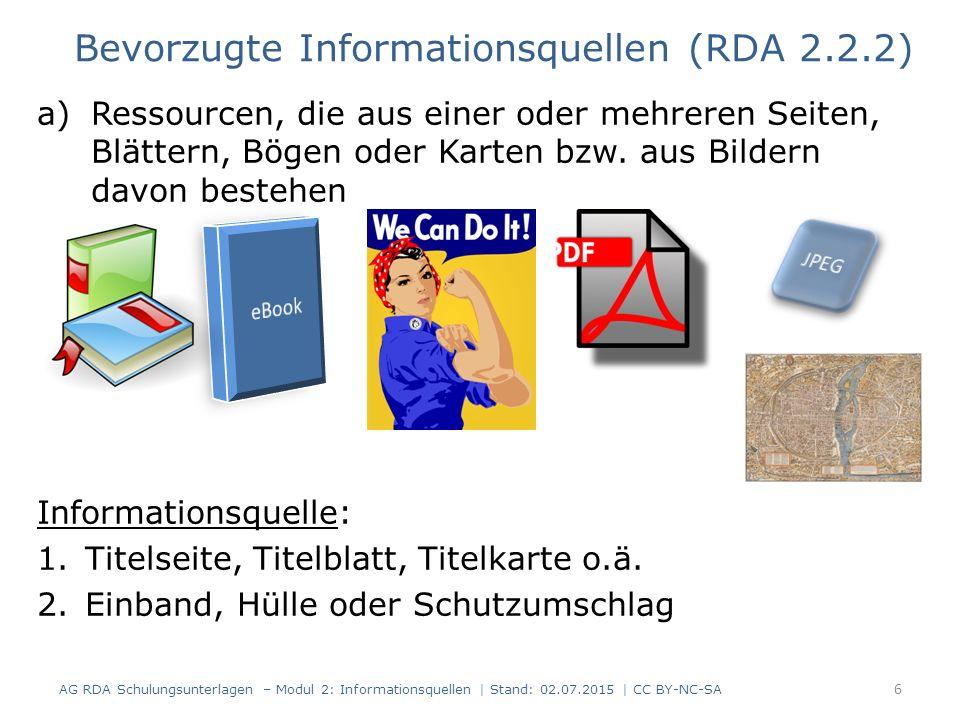 a)Ressourcen, die aus einer oder mehreren Seiten, Blättern, Bögen oder Karten bzw.