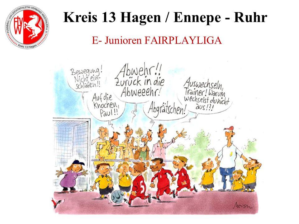 Kreis 13 Hagen / Ennepe - Ruhr E- Junioren FAIRPLAYLIGA