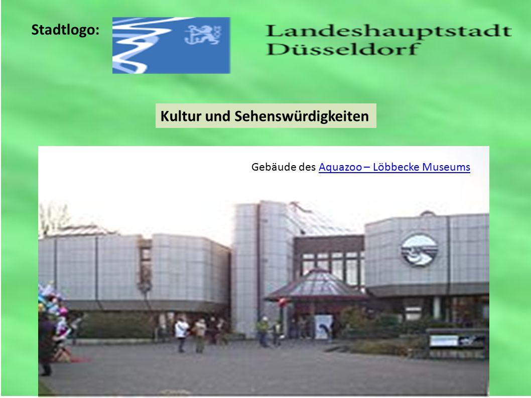 Stadtlogo: Kultur und Sehenswürdigkeiten Gebäude des Aquazoo – Löbbecke MuseumsAquazoo – Löbbecke Museums