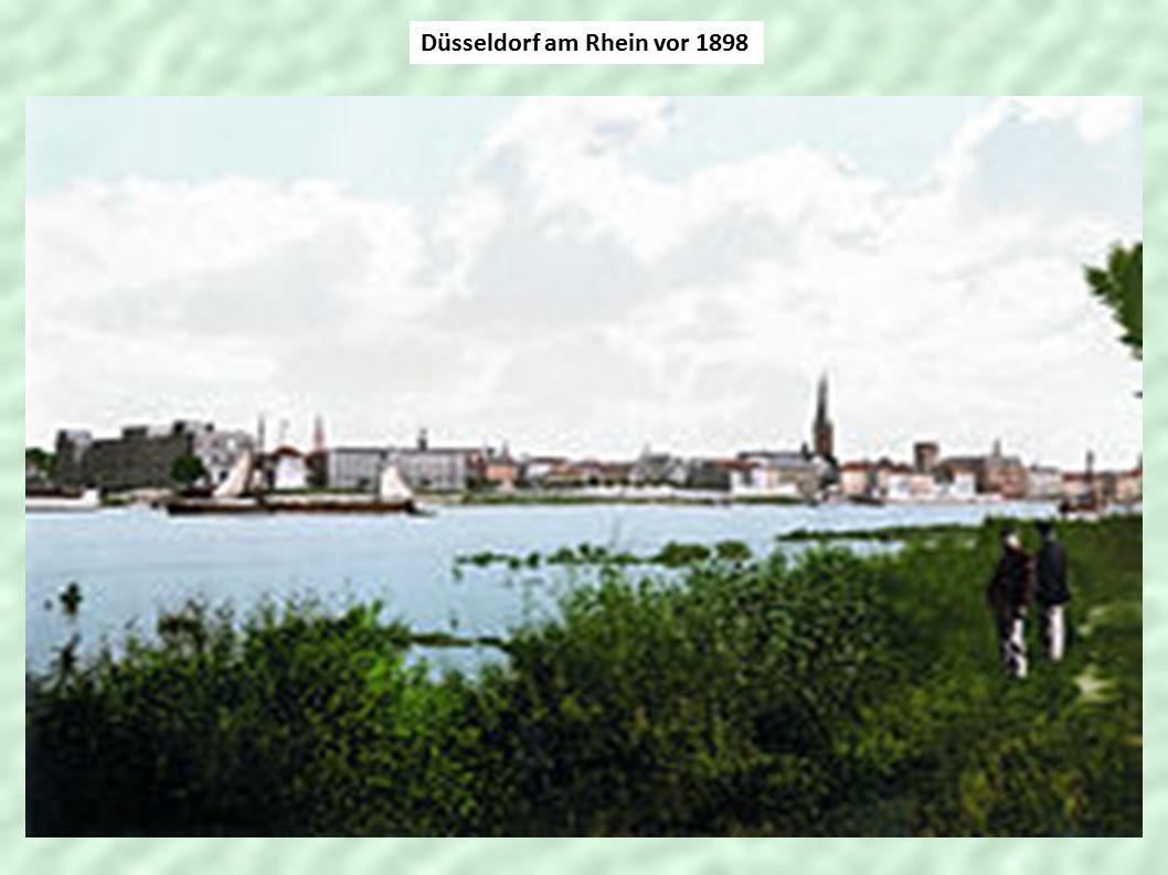 Düsseldorf am Rhein vor 1898