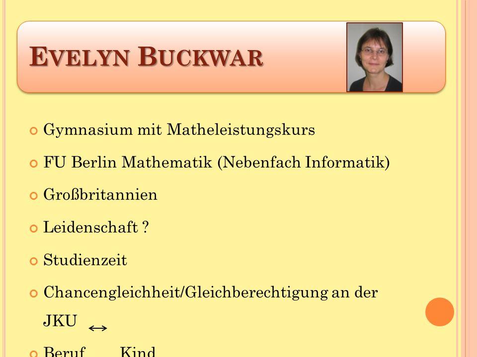 Gymnasium mit Matheleistungskurs FU Berlin Mathematik (Nebenfach Informatik) Großbritannien Leidenschaft .