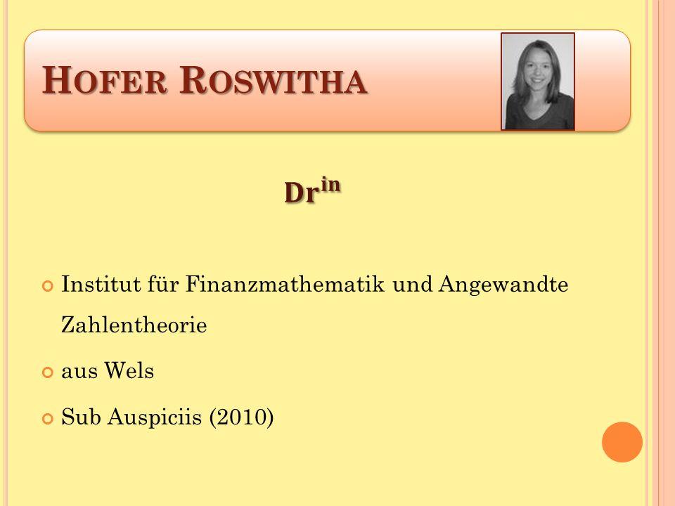 H OFER R OSWITHA