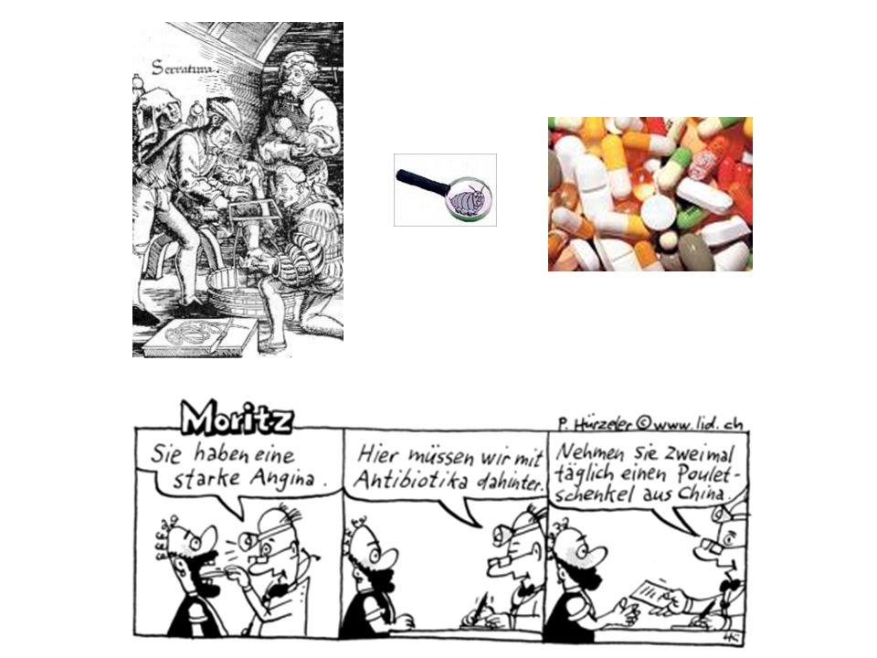 Weitere Antibiotika-Klassen 2 Lincosamide (Clindamycin): PD: bakteriostatisch (Hemmung der bakt.