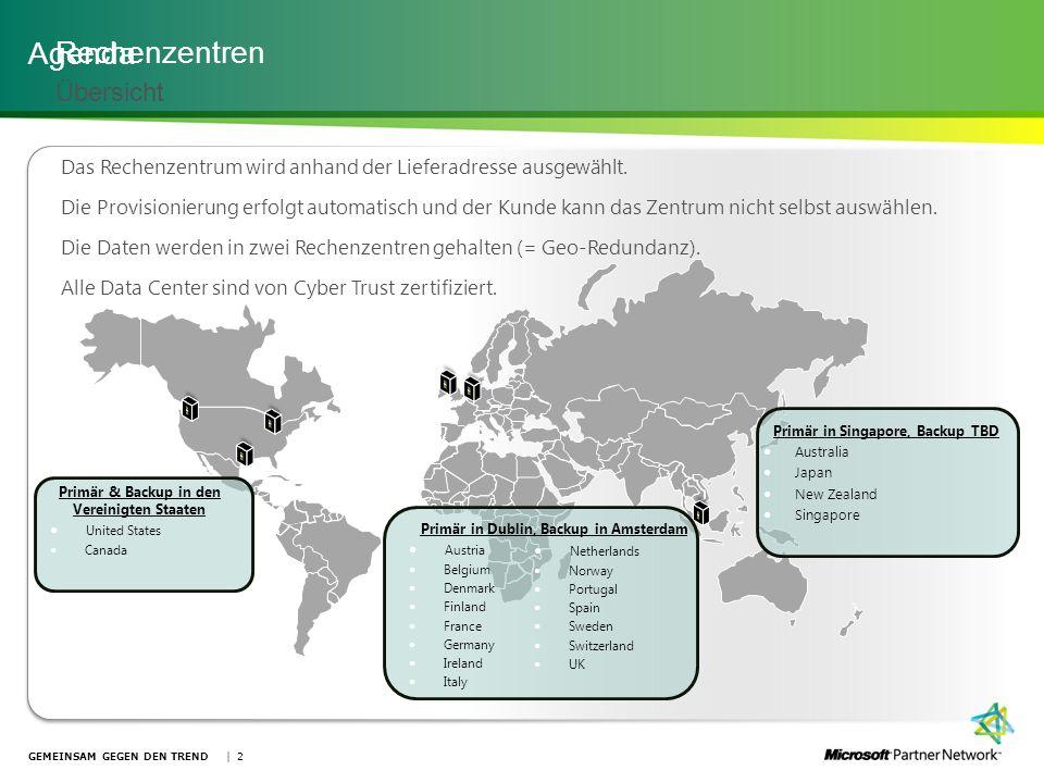 Administrative Tools Kundenportal – Admin-Verwaltungskonsole | 23GEMEINSAM GEGEN DEN TREND