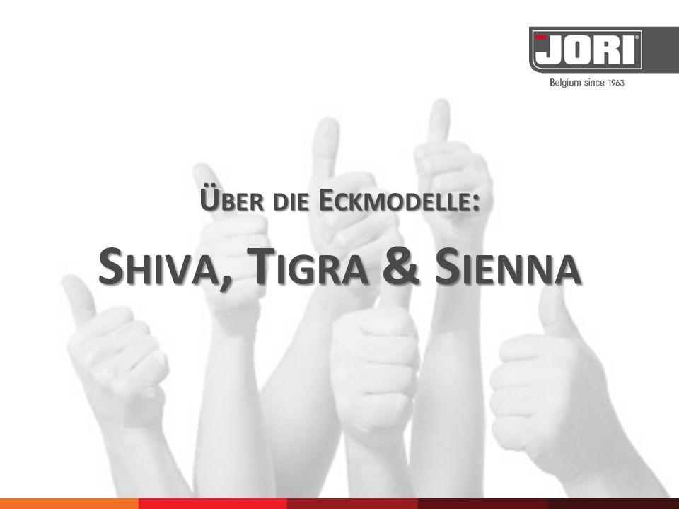I N JEDER E INRICHTUNG PASST EIN JORI Für höchstens 10% des Ankaufpreises des gekauften Modells Shiva, Tigra oder Sienna, können Ihre Kunden zusätzliche Modelle aus dem JORI 'interior accessories'- Angebot wählen.