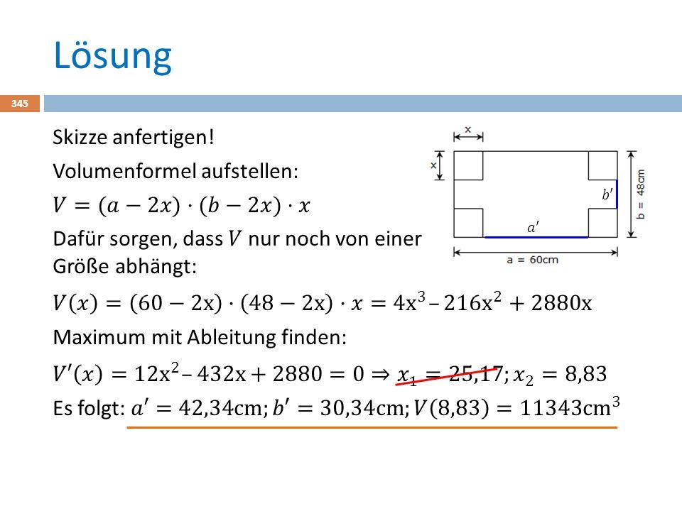 Lösung 345