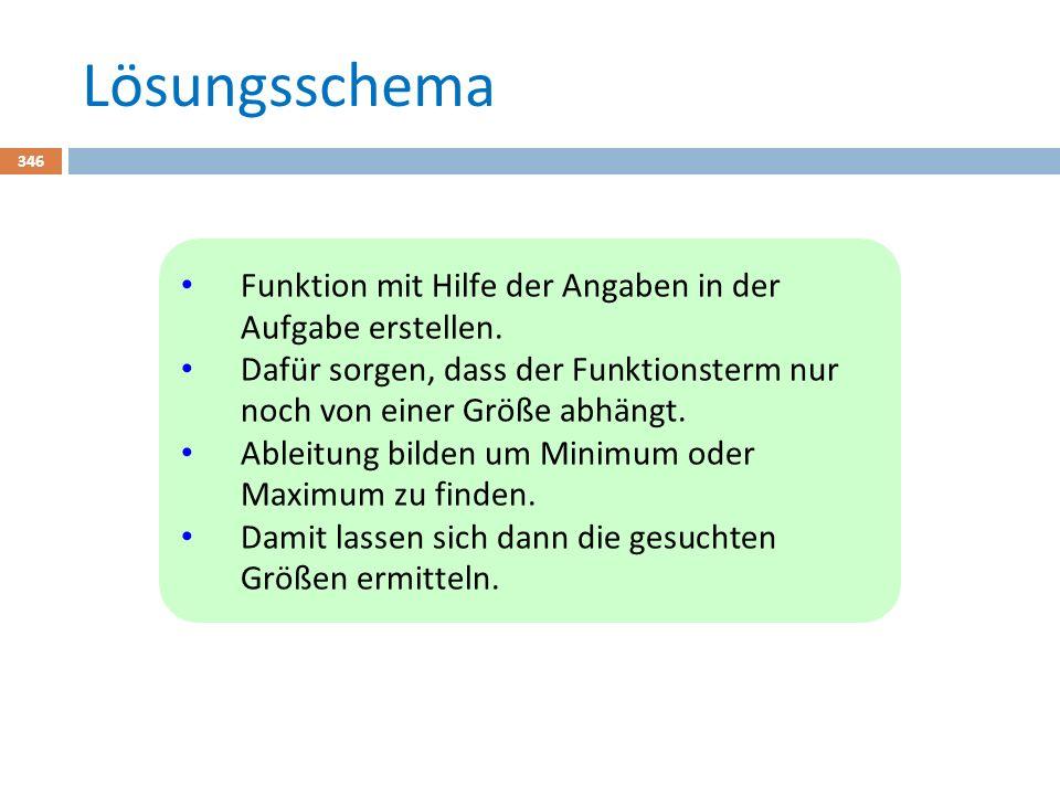 Lösungsschema 346