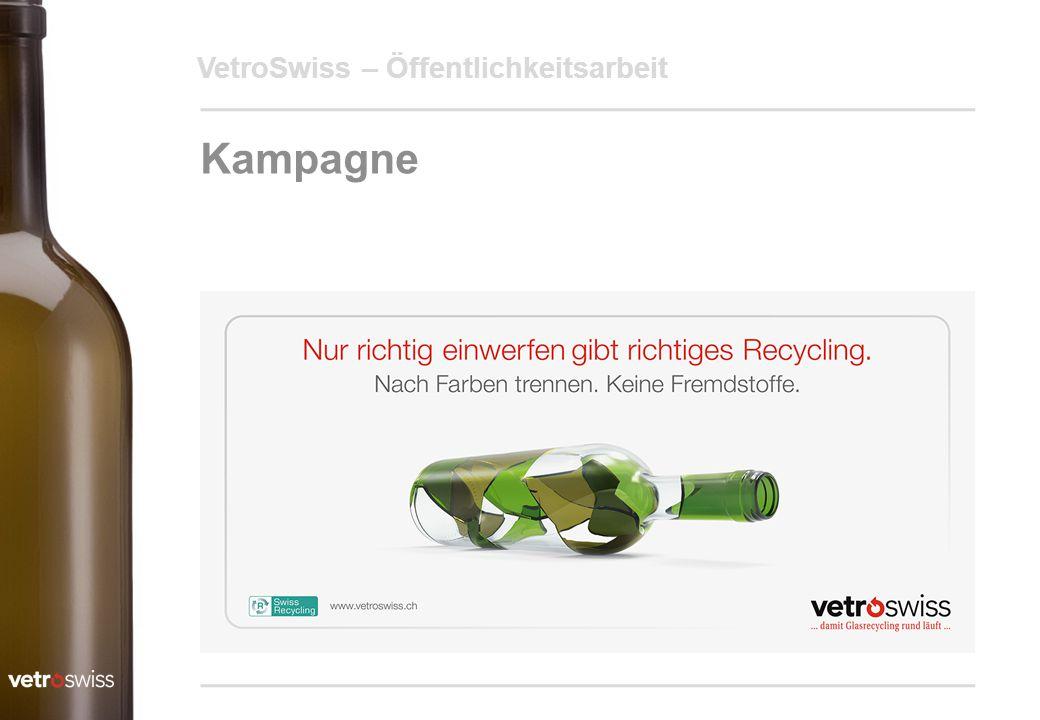 VetroSwiss – Öffentlichkeitsarbeit Kampagne