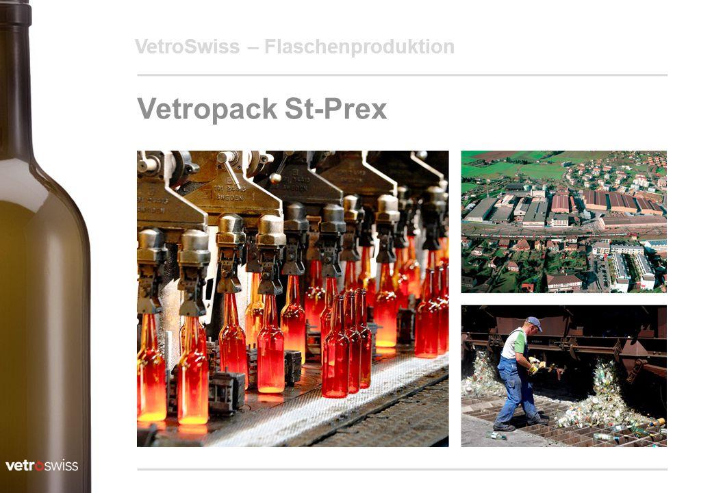 VetroSwiss – Flaschenproduktion Vetropack St-Prex