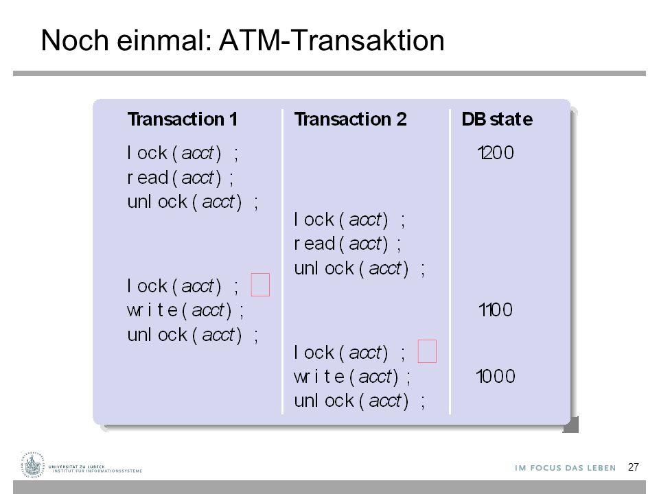 Noch einmal: ATM-Transaktion 27