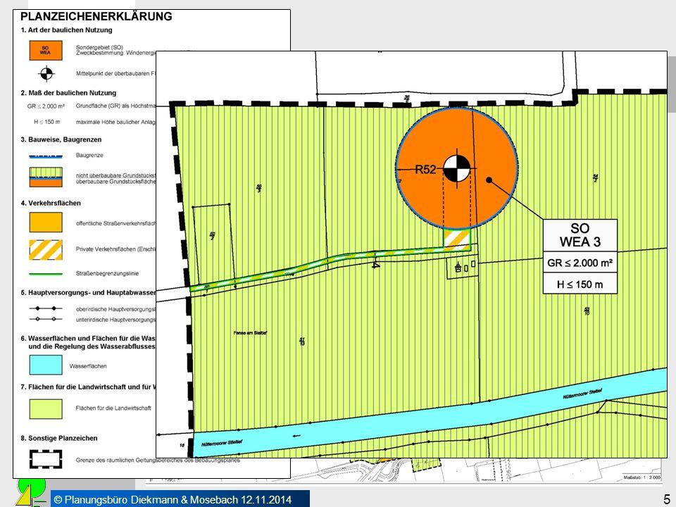 © Planungsbüro Diekmann & Mosebach 12.11.2014 5 Vorarbeiten Verbindliche Bauleitplanung