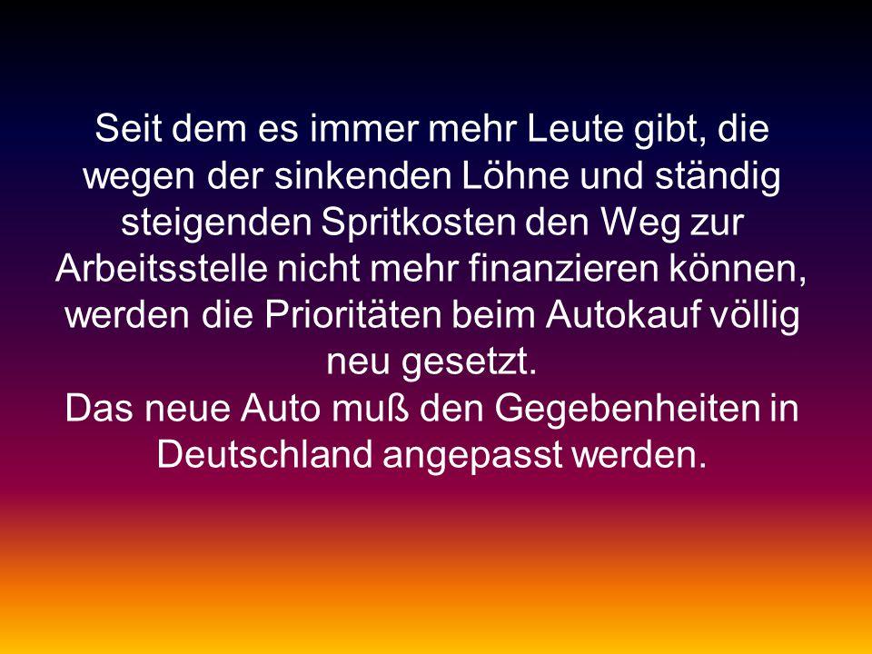 In Deutschland sind diese SUV schlicht kontraproduktiv.