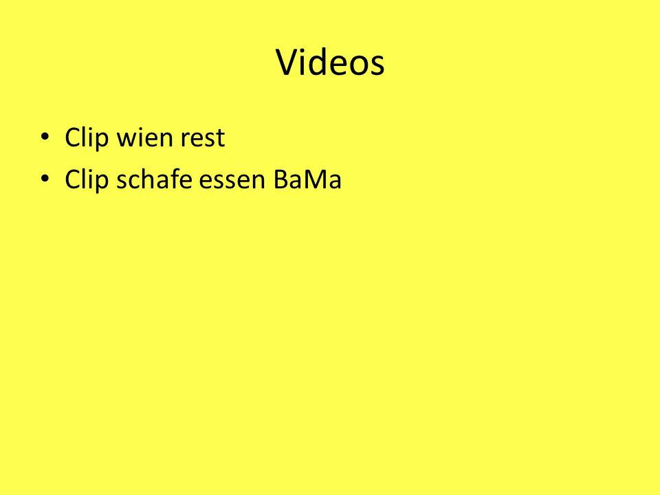 Videos Clip wien rest Clip schafe essen BaMa