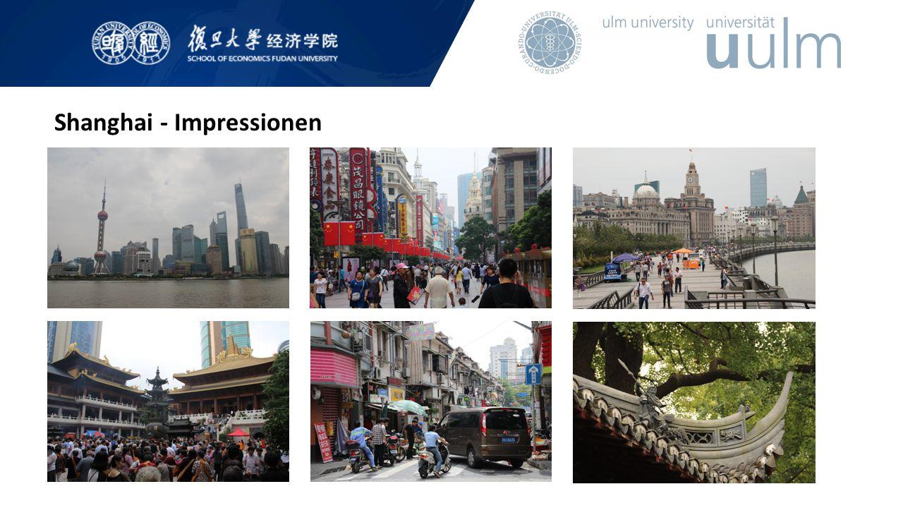 Shanghai - Impressionen