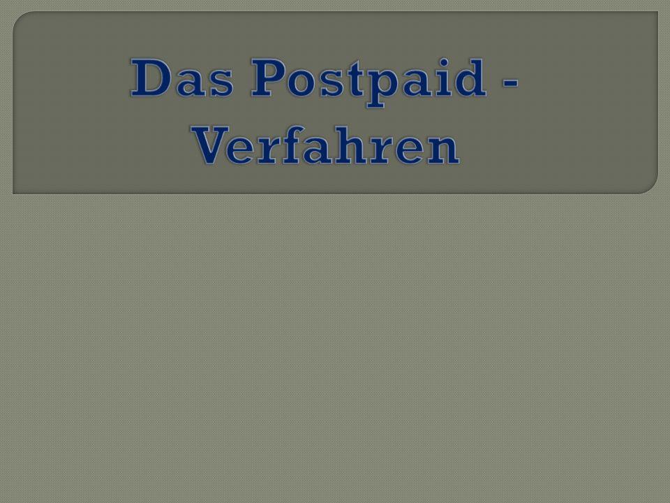 I.Was ist das Postpaid – Verfahren II. T- Pay Funktionsverfahren III.