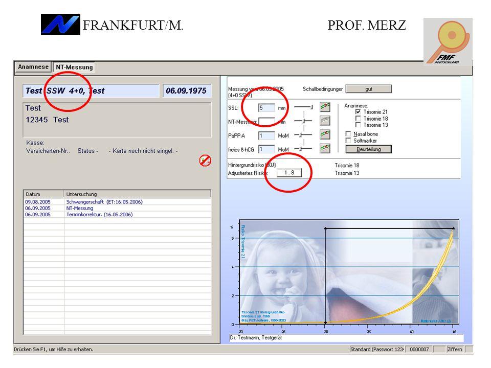 PROF. MERZ FRANKFURT/M.