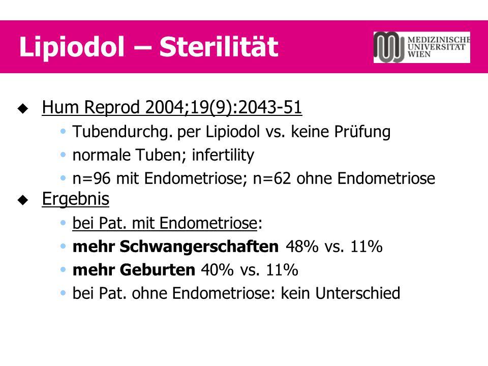 Adjuvante Therapie   Empfehlungen der Klin.Abt.