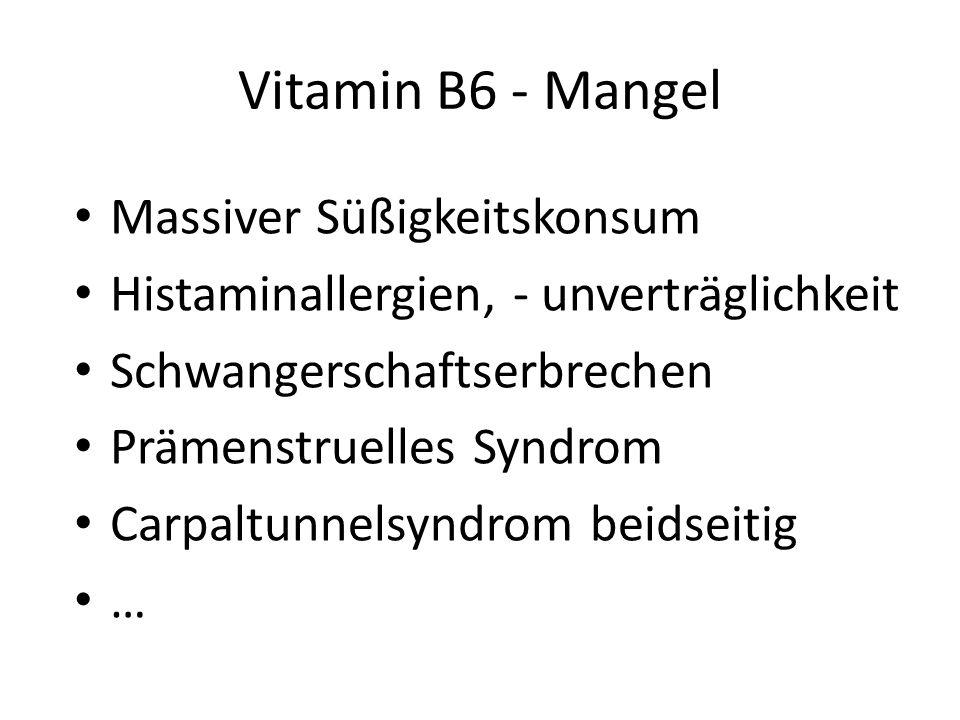 Zur Aktivierung in die biologisch aktive...–5-Phosphatform wird Zink Magnesium Riboflavin – Vitamin B2 benötigt! Vitamin B6 - Synergismus