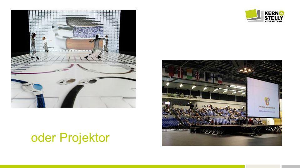  Große Darstellung von Excel, PPT, Video  Ausreichende Helligkeit  Vielzahl unterschiedlicher Anschlüsse  Verschiedene Nutzer  360° Projektion  Easy to use  Geringe Kosten Herausforderung