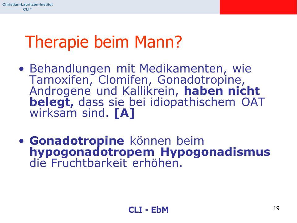 CLI - EbM 19 Therapie beim Mann.