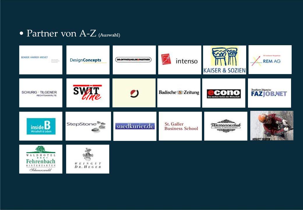 Partner von A-Z (Auswahl)