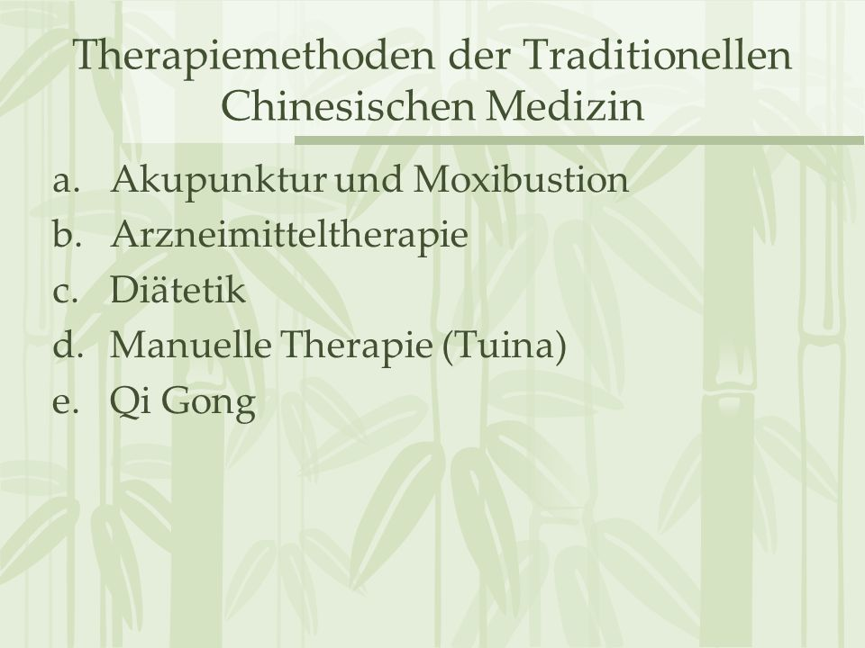 "Qi Gong und Tai Ji Quan Qi Gong –Synonyme: Dao Yin ""Leiten/Führen oder Tu Na ""Aus-/Einatmen –erstmals im Neijing (ca."