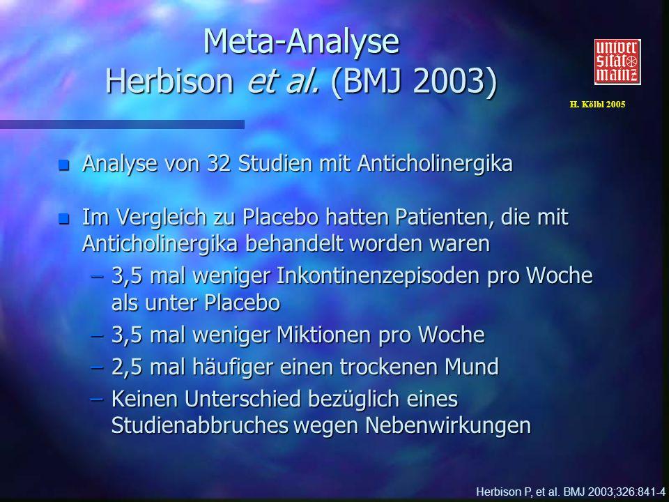 H. Kölbl 2005 Meta-Analyse Herbison et al.