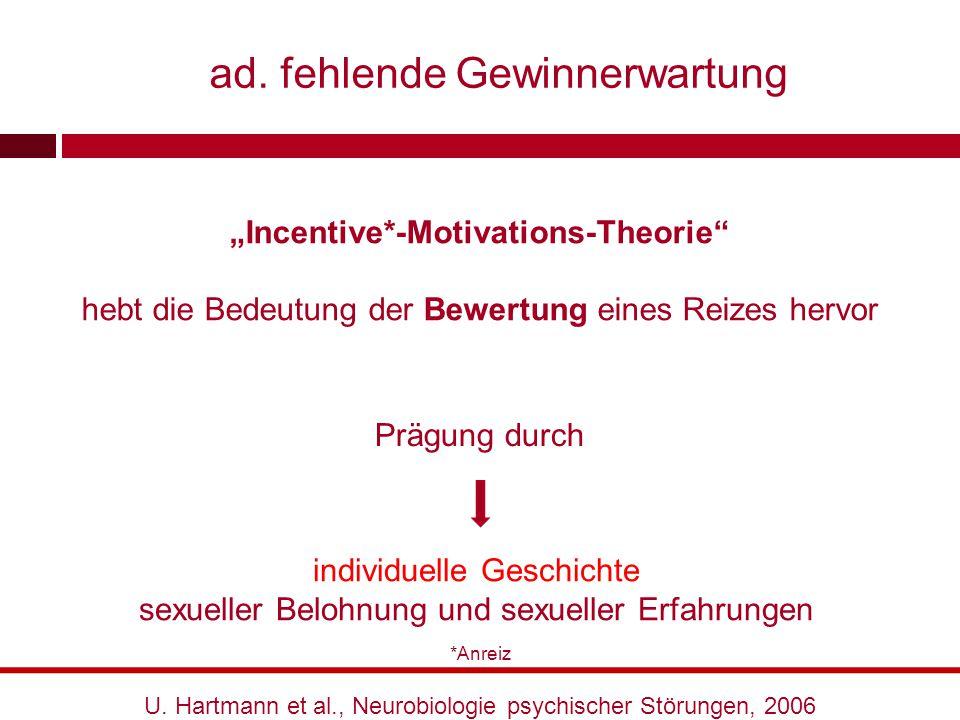 """""""Incentive*-Motivations-Theorie"""" hebt die Bedeutung der Bewertung eines Reizes hervor individuelle Geschichte sexueller Belohnung und sexueller Erfahr"""