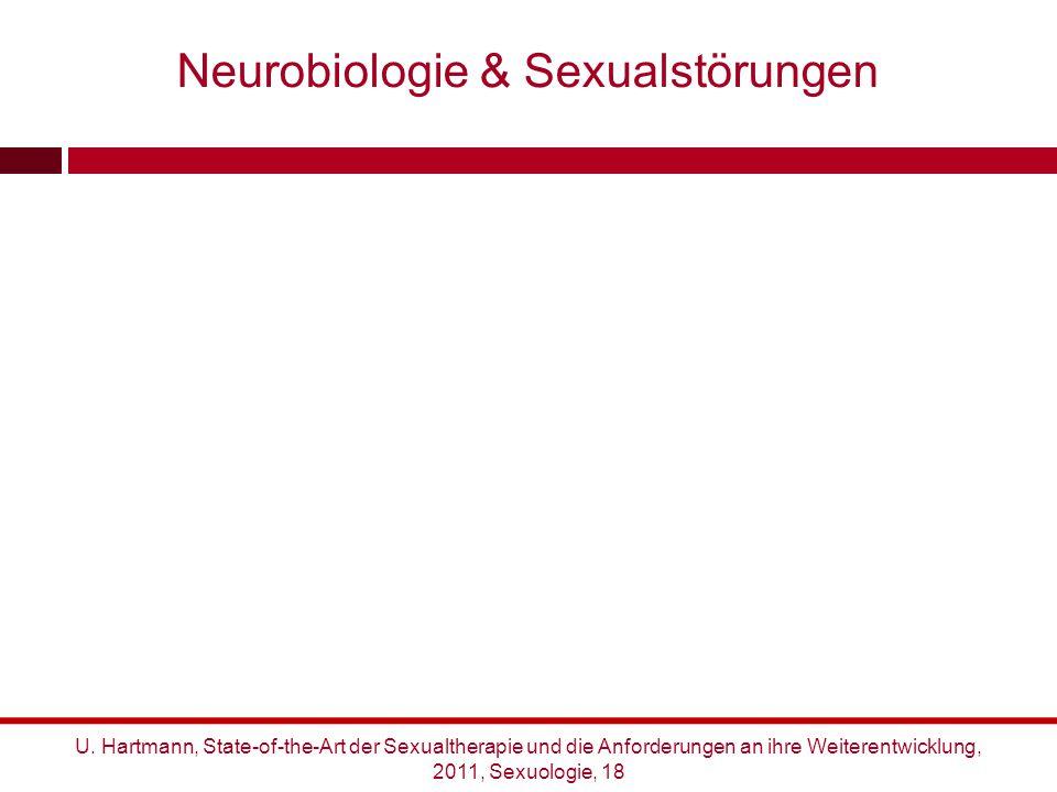 U. Hartmann, State-of-the-Art der Sexualtherapie und die Anforderungen an ihre Weiterentwicklung, 2011, Sexuologie, 18 Neurobiologie & Sexualstörungen