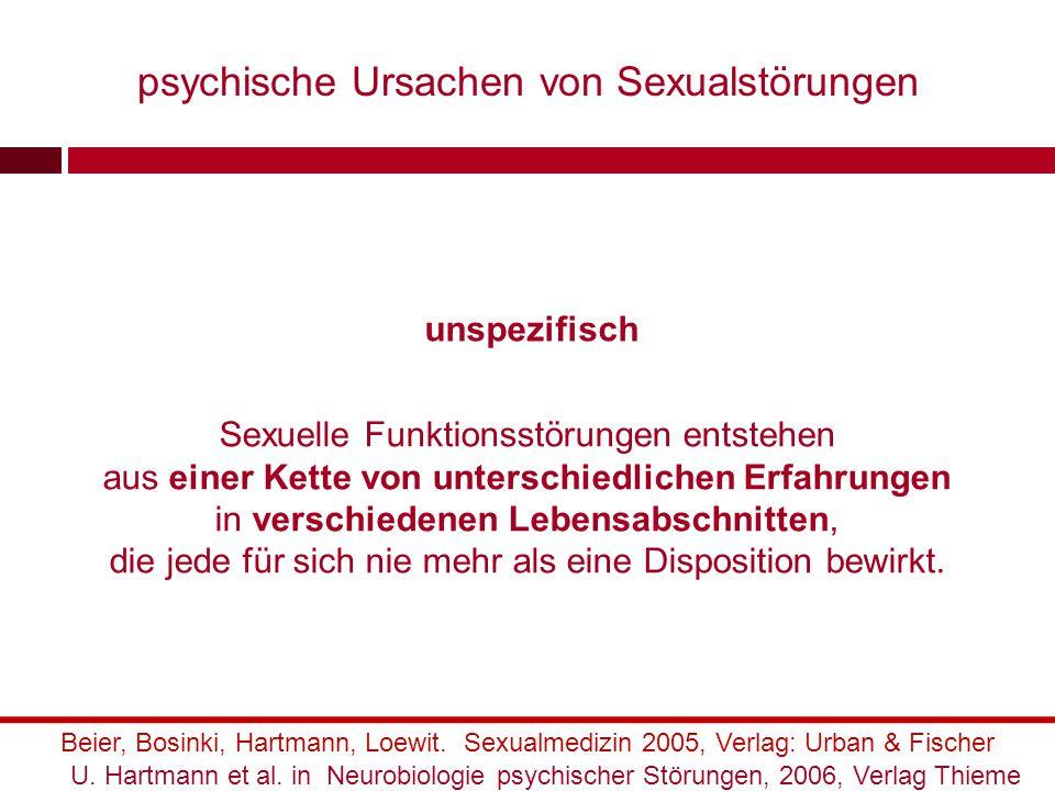 Sexuelle Funktionsstörung wird gegen den/die Partner/in eingesetzt, um untergründige Feinseligkeit oder Machtansprüche auszudrücken.
