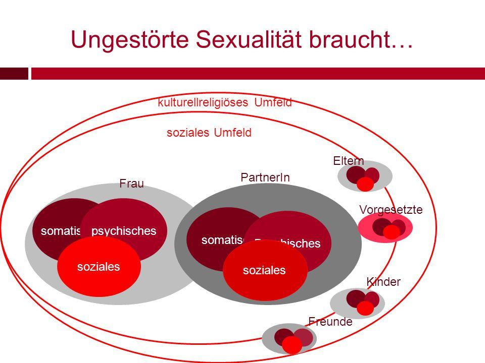 Das duale Verursacherkonzept Die Ursachen sexueller Funktionsstörungen sind zwei Ebenen zuzuordnen: Helen Singer Kaplan unmittelbar wirkende Faktoren tiefer verwurzelte Faktoren U.