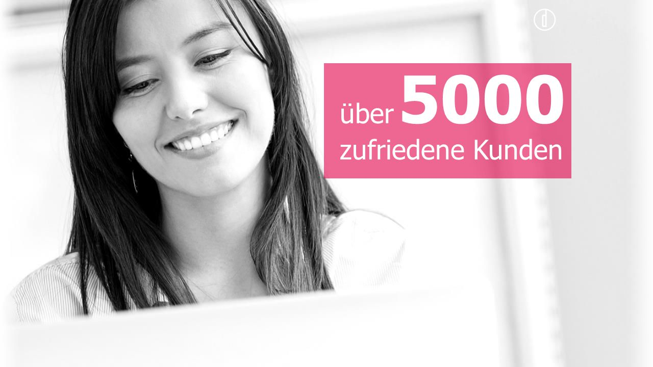 über zufriedene Kunden 5000