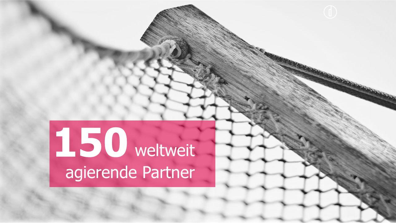 weltweit agierende Partner 150