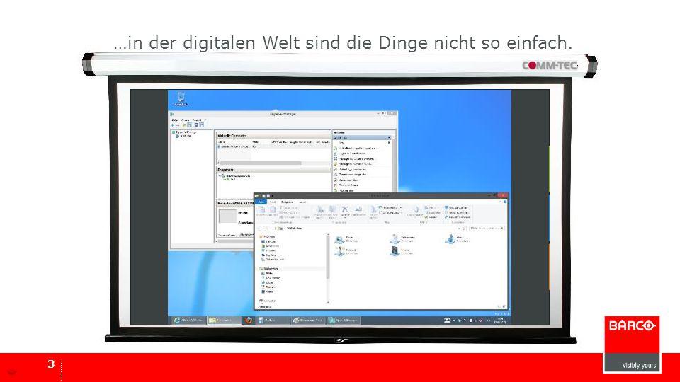 3 looking for signal... …in der digitalen Welt sind die Dinge nicht so einfach.