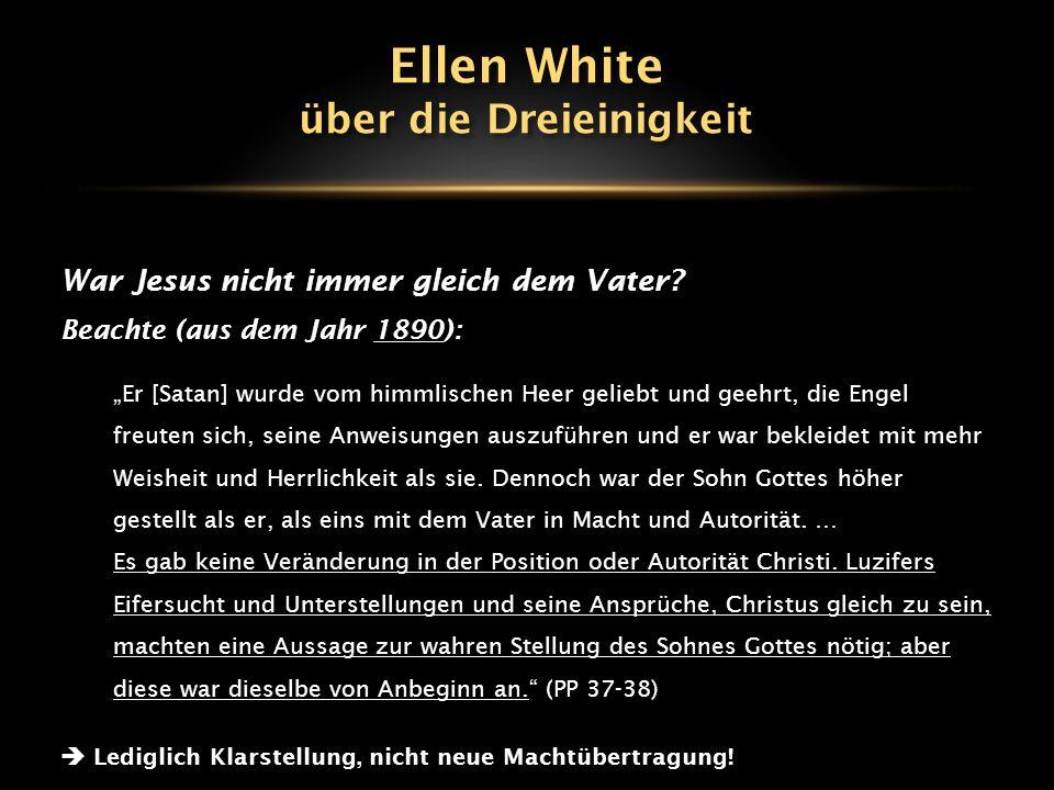 Die Göttlichkeit Jesu: 1898 Zu Joh.