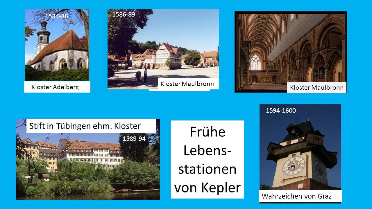 Kloster Adelberg Kloster Maulbronn Stift in Tübingen ehm.