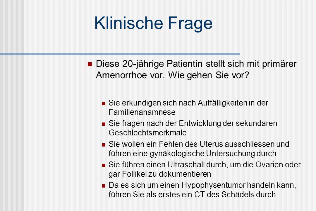 0 1 2 Vor Menopause Nach Menopause Im Alter 0 20 40 60 80 100 T4 (nmol/l) T3 (nmol/l) Normalbereich Diagnostik: Schilddrüse Rossmanith et al.