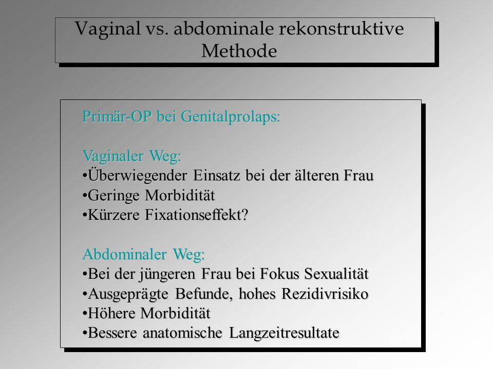 Vaginal vs.
