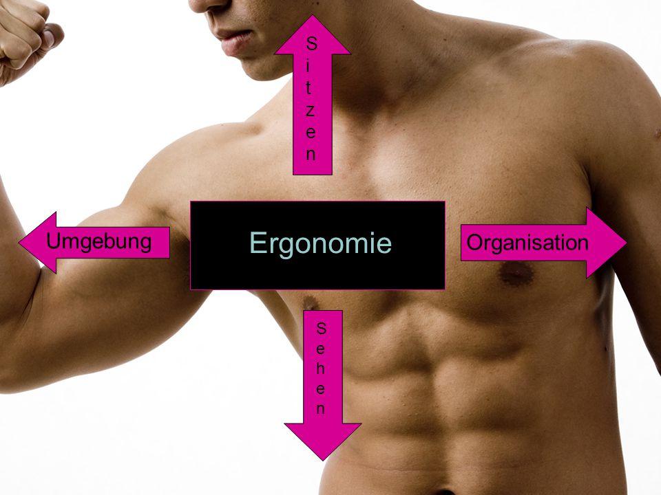 """Begriff """"Ergonomie  Die Ergonomie sollte unser Leben einfacher und weniger anstrengend machen  Unsere Arbeit sollte durch die Ergonomie effizienter werden."""