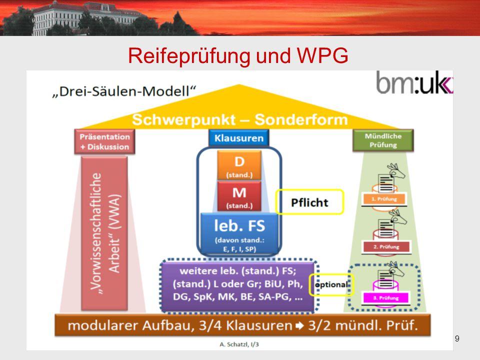 9 Reifeprüfung und WPG