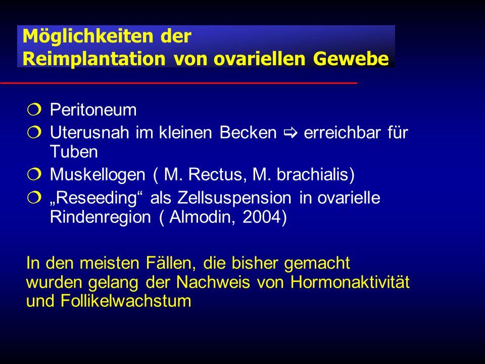  Peritoneum  Uterusnah im kleinen Becken  erreichbar für Tuben  Muskellogen ( M.