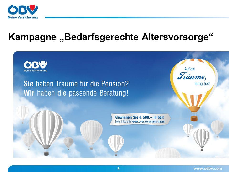 9 Rund 700 Mitarbeiterinnen und Mitarbeiter sind für die ÖBV österreichweit im Einsatz.