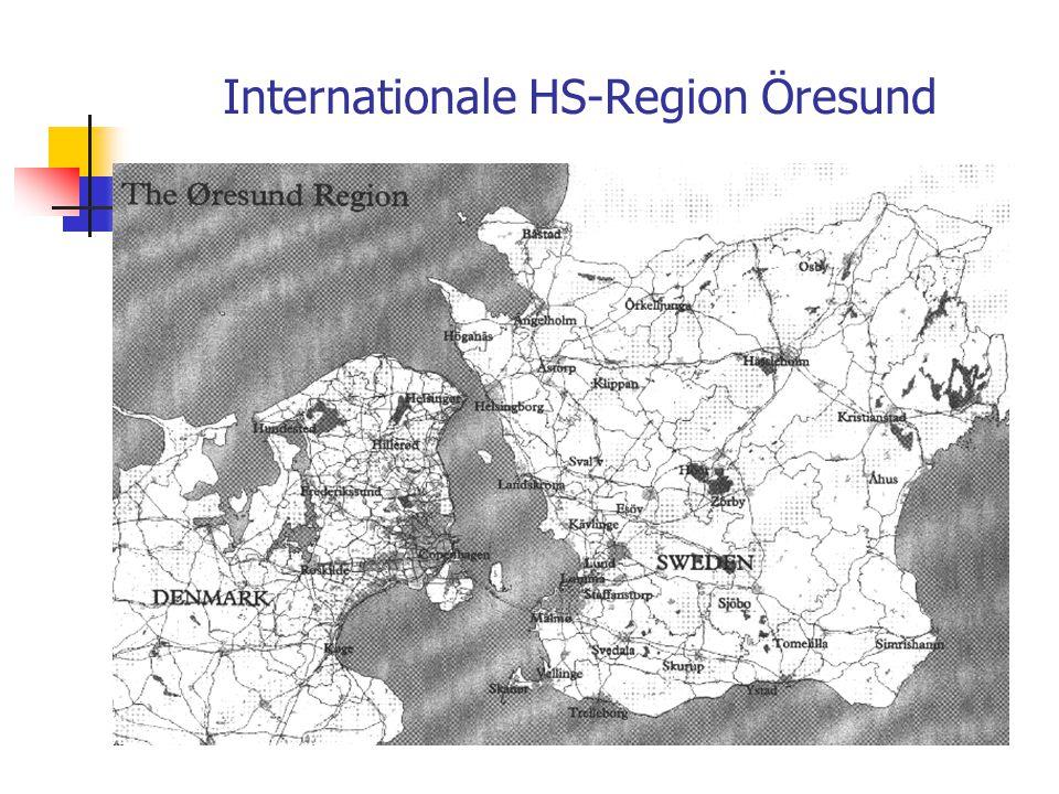 Grenzüberschreitungen, z.B. HS-Region der RWTH Aachen