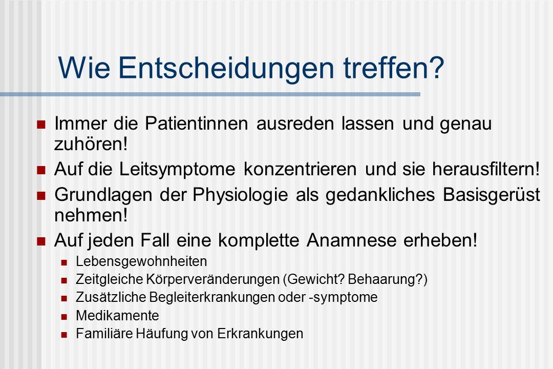 Gonadotropinsekretion während des Alterns Episodische LH- und FSH-Sekretion von postmenopausalen 50-jährigen Frauen (links) und von postmenopausalen 80-jährigen Frauen (rechts) Rossmanith et al.