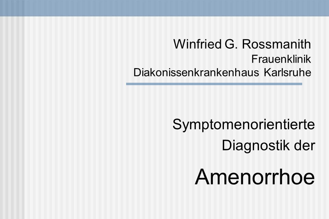 Testikuläre Feminisierung Stigmata und Symptome: Zeichen einer peripheren Androgenresistenz Fehlende Pubes- und Achselbehaarung Fehlender Uterus Vagina verkürzt oder fehlend Testes in den Labien, im Leistenkanal oder intraperitoneal